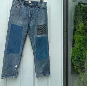 Rebecca Taylor La Vie Patchwork Jeans